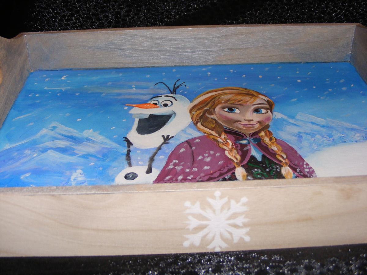 Frozen talca teljesen alul